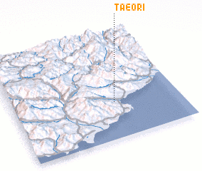 3d view of Taeo-ri
