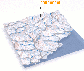 3d view of Soksae-gol