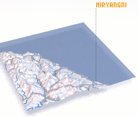 3d view of Miryang-ni