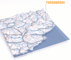 3d view of Yonghang-ni