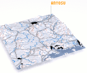 3d view of Anyŏsu