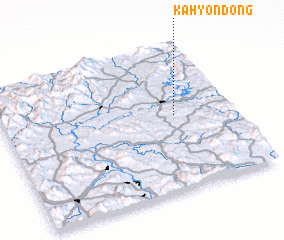 3d view of Kahyŏn-dong
