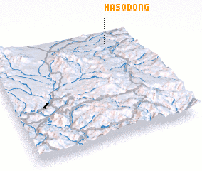 3d view of Haso-dong