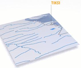 3d view of Tiksi