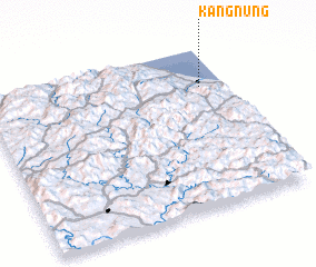 3d view of Kangnŭng