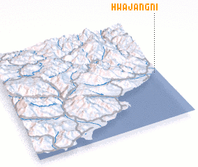 3d view of Hwajang-ni