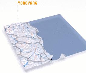 3d view of Yŏngyang