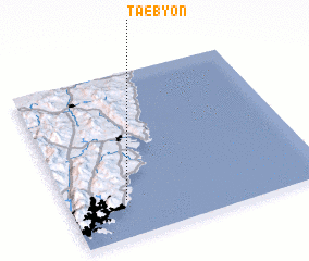 3d view of Taebyŏn