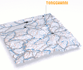 3d view of Tonggwan-ni