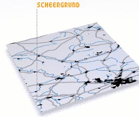 3d view of Scheergrund