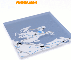 3d view of Freienlande