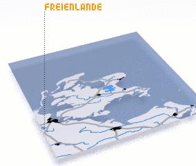 3d view of Freienlande