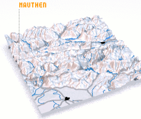 3d view of Mauthen