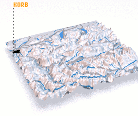 3d view of Korb