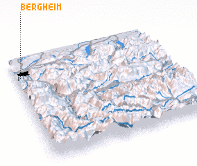 3d view of Bergheim