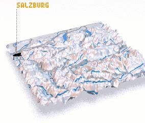 3d view of Salzburg