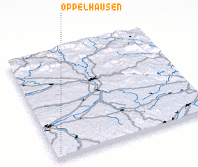 3d view of Öppelhausen