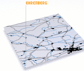 3d view of Ehrenberg