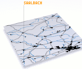 3d view of Saalbach