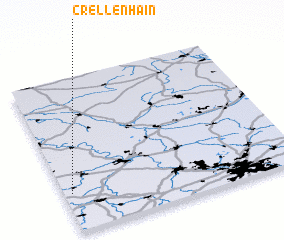 3d view of Crellenhain