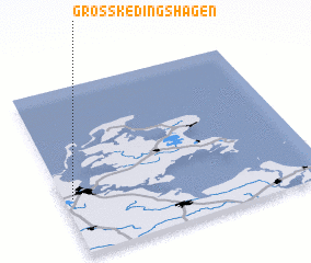 3d view of Groß Kedingshagen