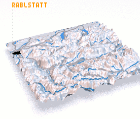 3d view of Rablstätt