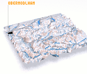 3d view of Obermödlham