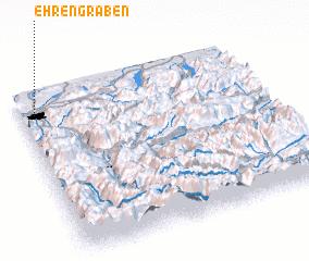 3d view of Ehrengraben