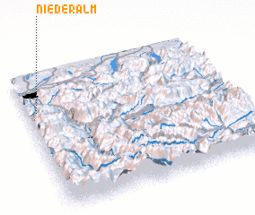 3d view of Niederalm