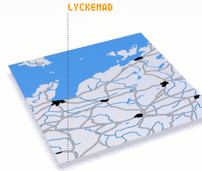 3d view of Lyckemad