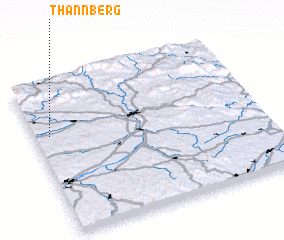 3d view of Thannberg
