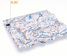 3d view of Glas