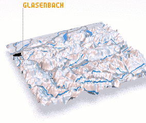 3d view of Glasenbach