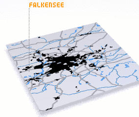 3d view of Falkensee