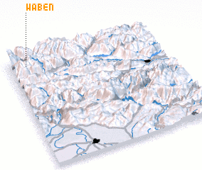 3d view of Waben
