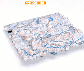 3d view of Großhöch