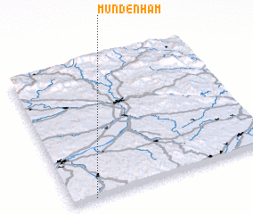 3d view of Mundenham