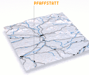 3d view of Pfaffstätt