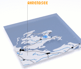 3d view of Ahrendsee