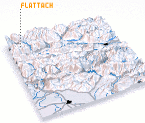 3d view of Flattach