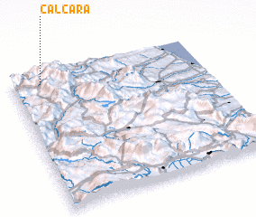 3d view of Calcara