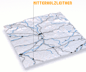3d view of Mitterholzleithen