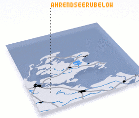 3d view of Ahrendsee Rubelow