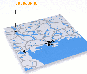 3d view of Edsbjörke