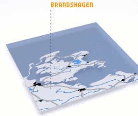 3d view of Brandshagen