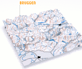 3d view of Bruggen