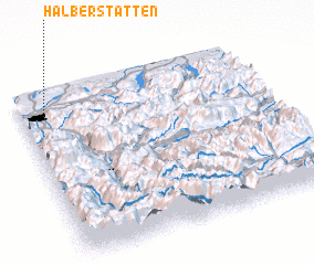 3d view of Halberstätten