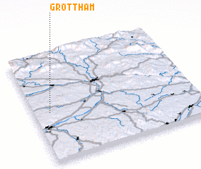 3d view of Grottham
