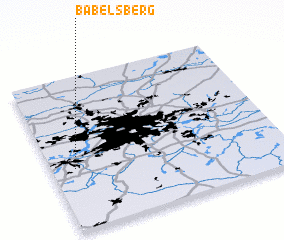 3d view of Babelsberg