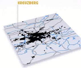 3d view of Kreuzberg